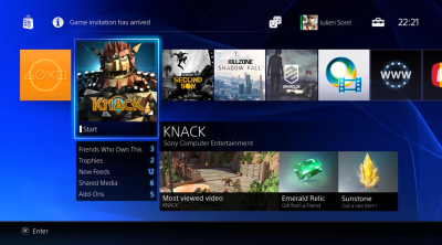 PlayStation 4 installs every game to its hard drive (even