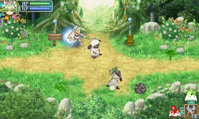 Rune Factory 4 - battles