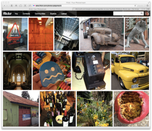 New Flickr interface