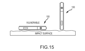 apple patent iphone fall