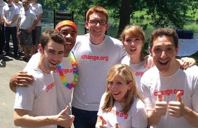 The Change.org team