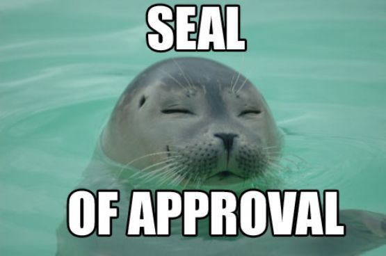 Seal-of-approval