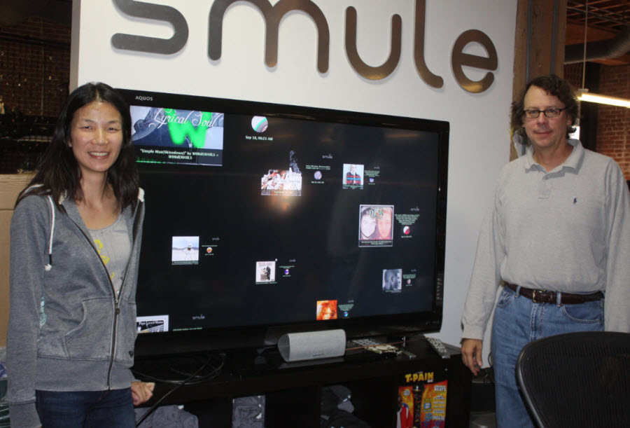 Smule's Jeannie Yang and Jeffrey Smith