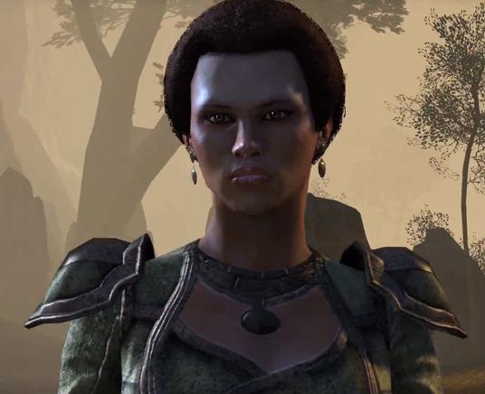 The Elder Scrolls Online's character shots