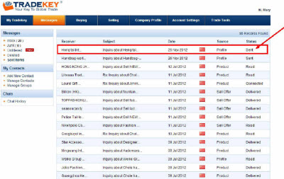 TradeKey counterfeit listings.