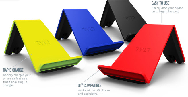 VÜ wireless charger generates 1 amp output.