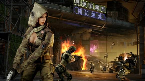 Warface female sniper