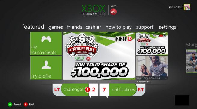 xbox tournaments 1