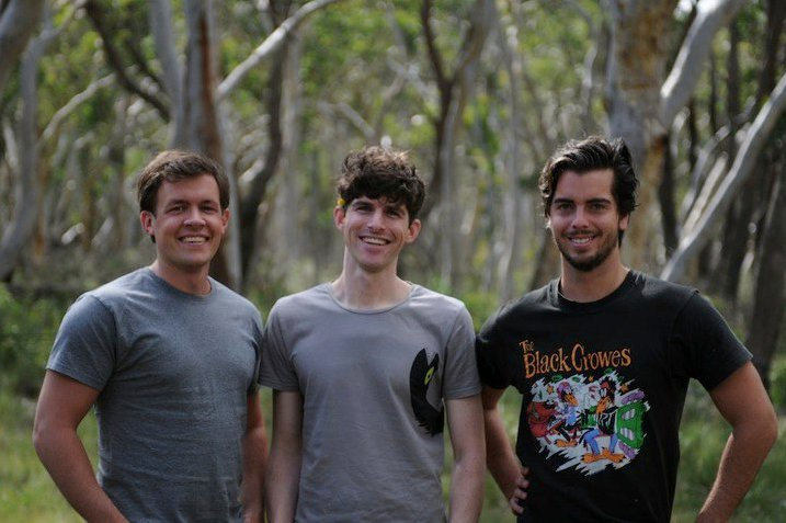 Cofounders  Scott Kolb, Peter Bernheim and Kyle Gerrity.