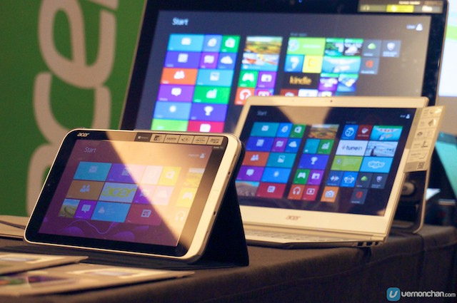 Acer's Windows 8 devices