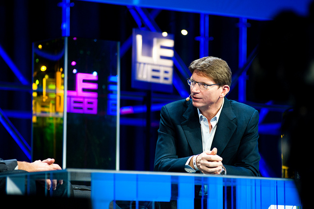 Atomico CEO Niklas Zennstrom at LeWeb 11.