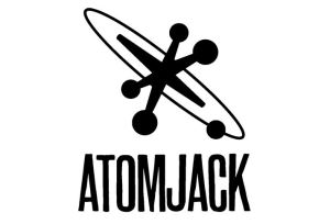 The logo for the new studio AtomJack.