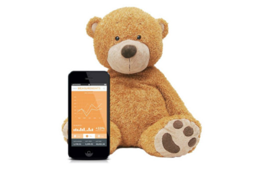 This innocent-looking Teddy bear is actually helping parents keep an eye on their children.