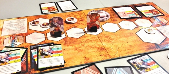 BattleCon: Devastation of Indines board