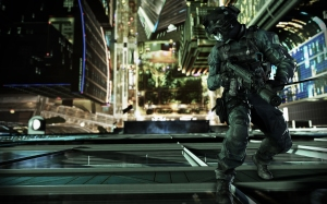 Call of Duty: Ghosts Federation Day combat scene
