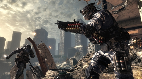 Call of Duty: Ghosts blindside attack.