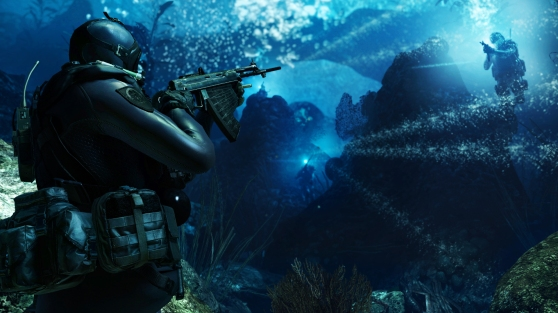 Call of Duty: Ghosts underwater firefight