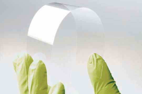 Corning's Willow Glass could be used for making curved-screen displays like the rumored future iPhone's.