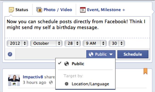 Facebook-Schedule-Post
