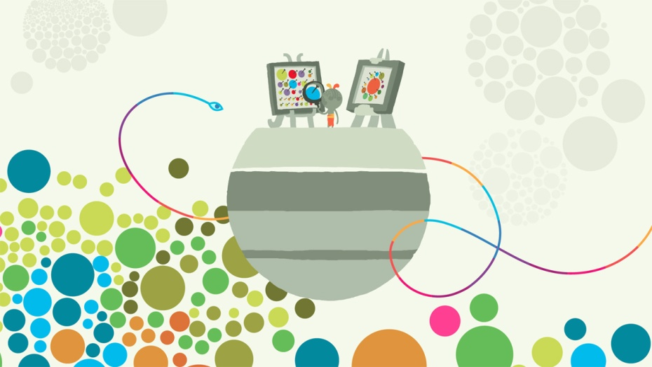 A scene from Hohokum, an upcoming indie game from Honeyslug