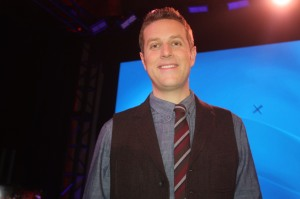 Geoff Keighley did a live show for the launch in NYC.