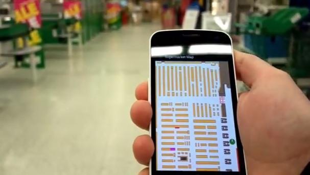 Indoor Atlas uses magnetic sensors to map indoor locations.