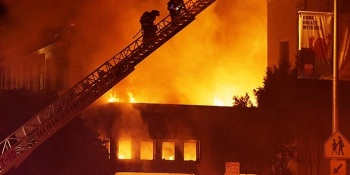 Two-alarm blaze hits Internet Archive causing moderate damages