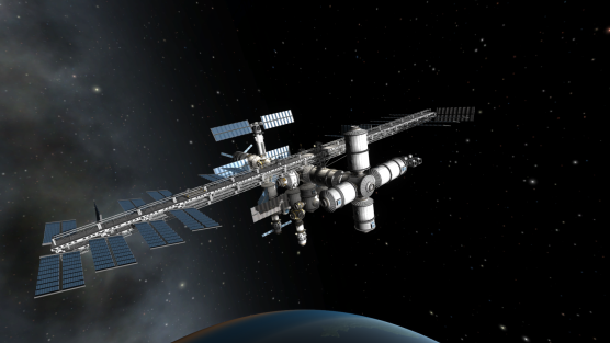 A space station in KSP.