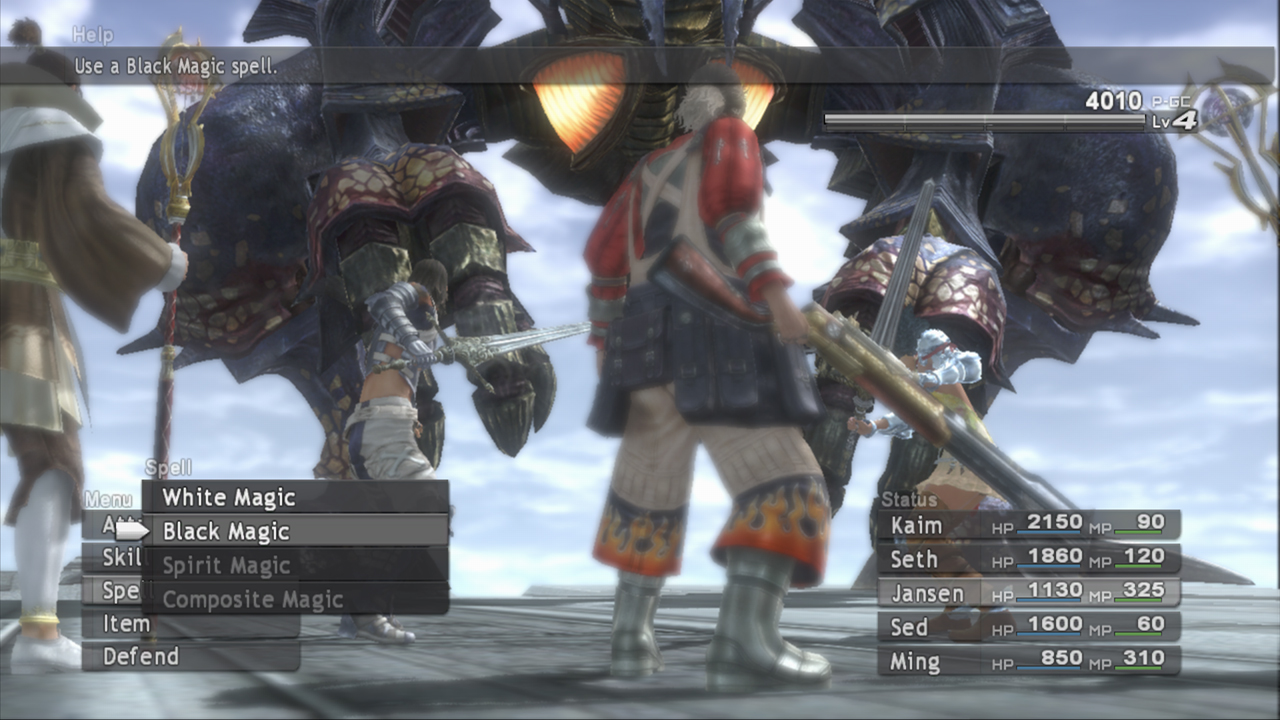 Lost Odyssey, one of Mistwalker's first games, and probably the best known Xbox 360 role-playing game.