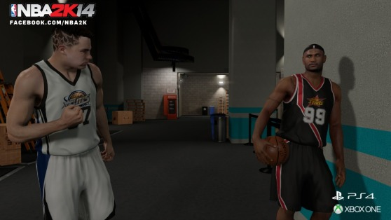 2K14's MyCareer mode offers depth in choice and consequence.