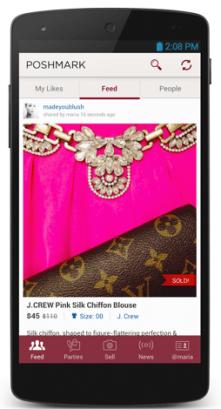 Poshmark Hits $100M In Annual Revenue For Its Fashion