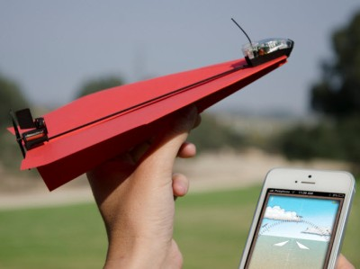PowerUp Toys will make iPhone-controlled paper airplanes fly