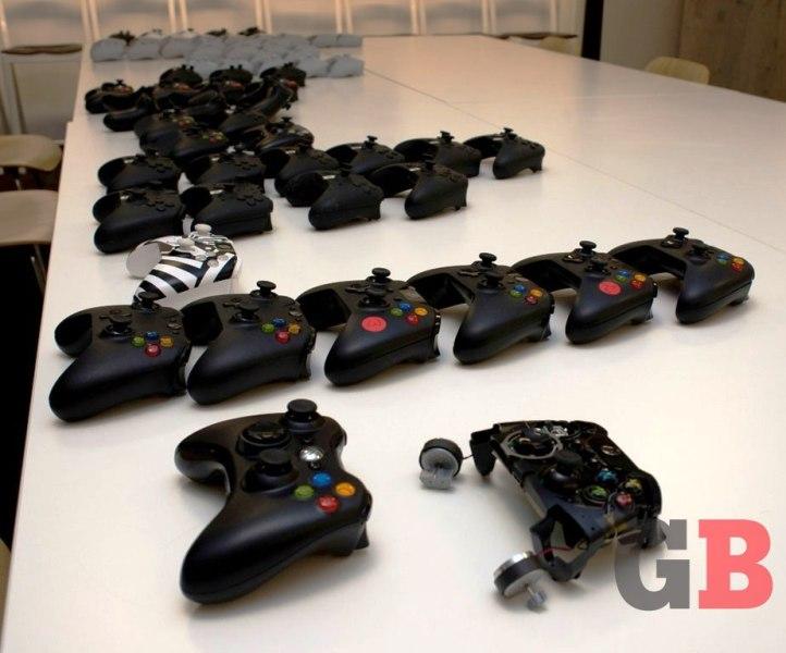 Xbox One controller prototypes