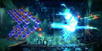 Resogun: Next-gen graphics push a pretty shoot-em-up that quickly runs out of bullets (review)