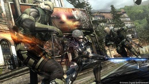 Metal Gear Rising: Revengeance - Battle
