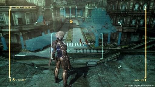 Metal Gear Rising Revengeance - Scan mode