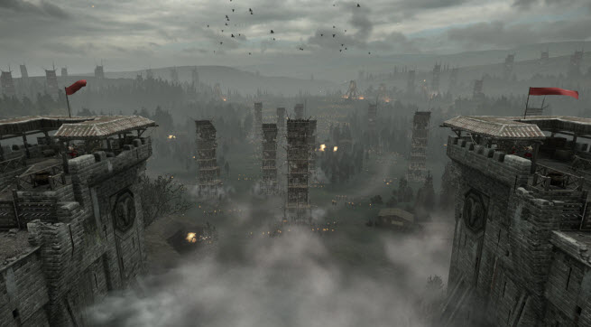 Ryse lets you take command and take out a bunch of towers.