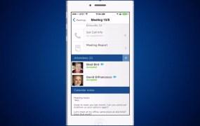 The Selligy iPhone app helps salespeople keep track of their meetings