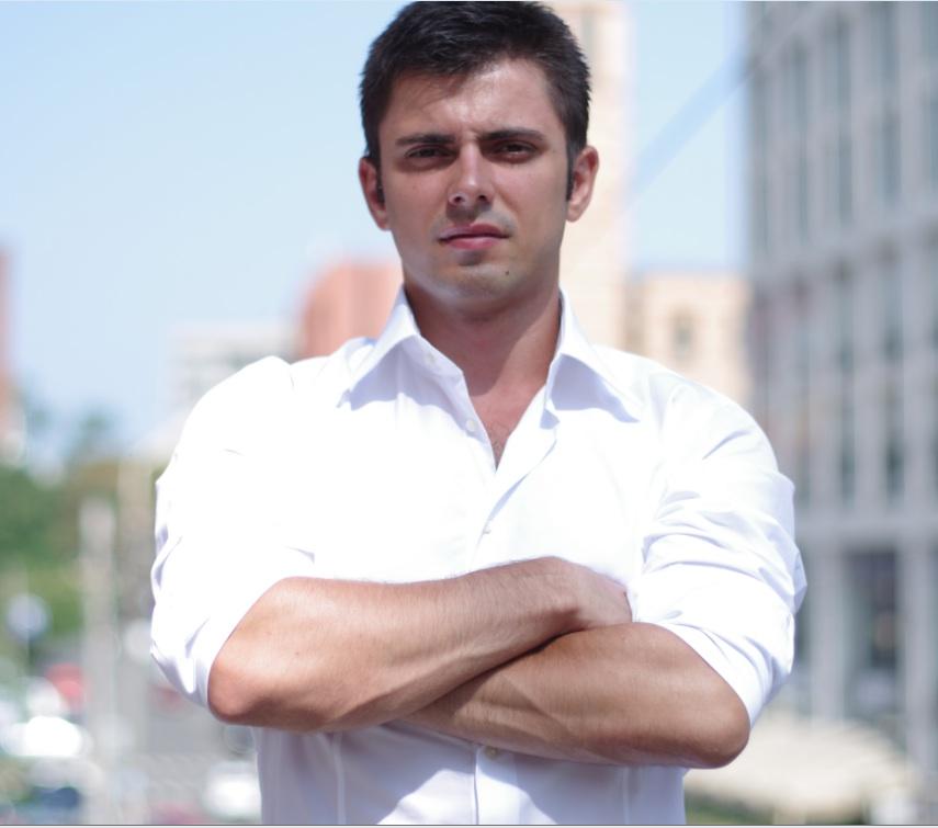 Oleg Rogynskyy, founder and chief executive of Semantria