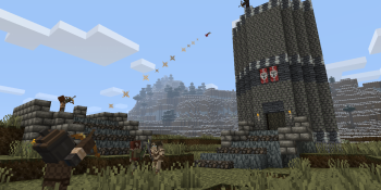Minecraft and Skyrim together in new 'Mash-up pack' for the Xbox 360 version