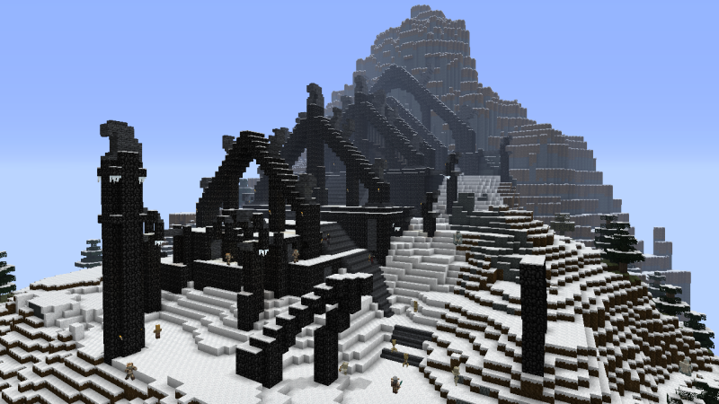 Minecraft and Skyrim together in new 'Mash-up pack' for the