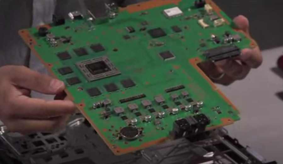 What's inside Sony's PlayStation 4: Upgradeable hard drive