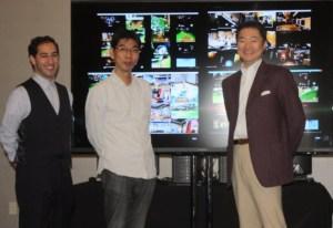 Jacob Navok, Tetsuji Iwasaki, and Yoichi Wada of Square Enix