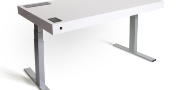 This $4K desk has Wi-Fi, Bluetooth, APIs, a touchscreen — and will save years of your life