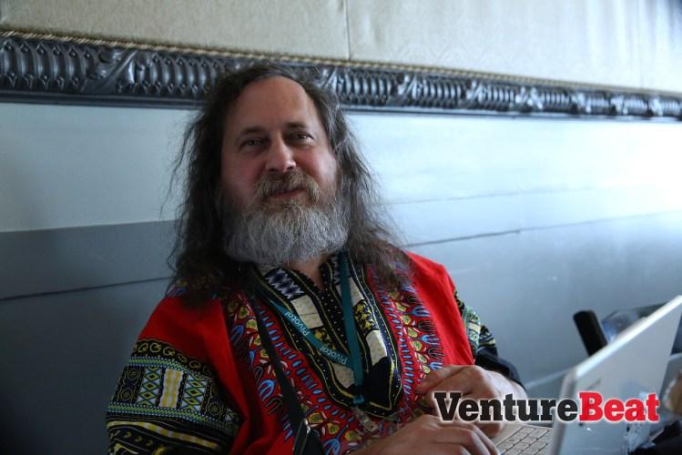 Photo of Richard Stallman