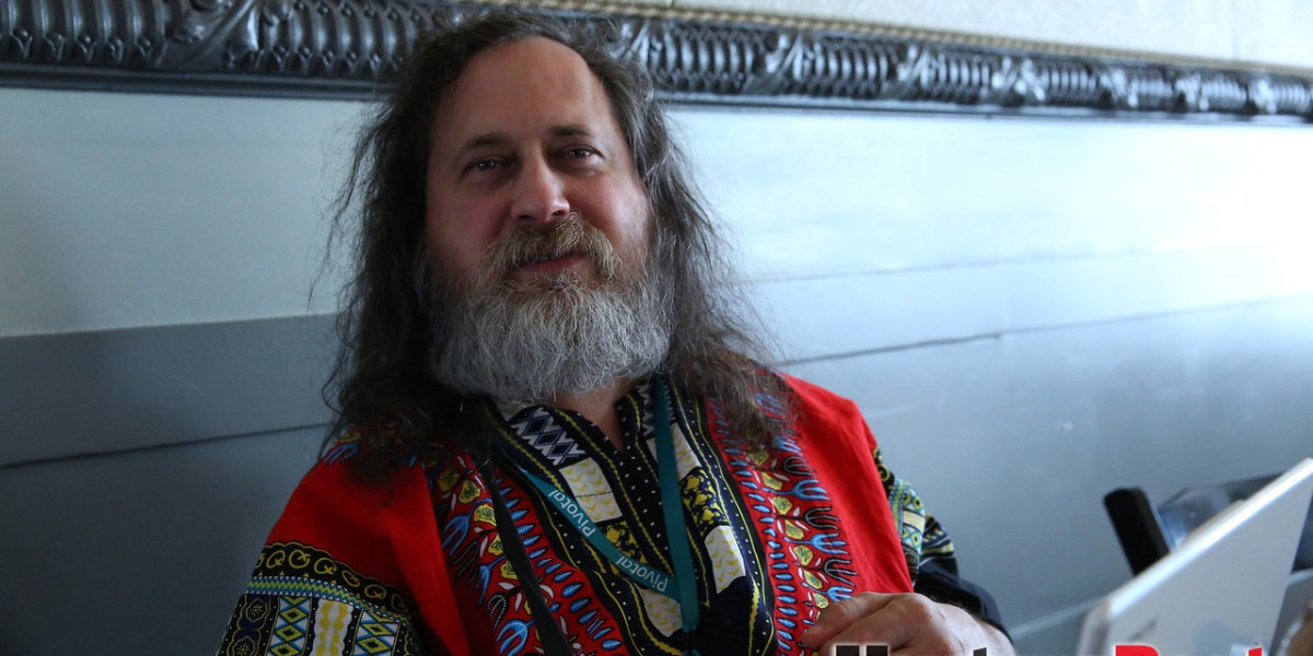 Photo of Richard Stallman