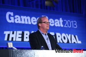 Martin Rae moderated the session on game investments. His panelists noted the rise of Asia.