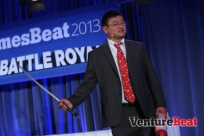At GamesBeat 2013, Dean Takahashi threatened the audience to get back on time after the break ... or else.