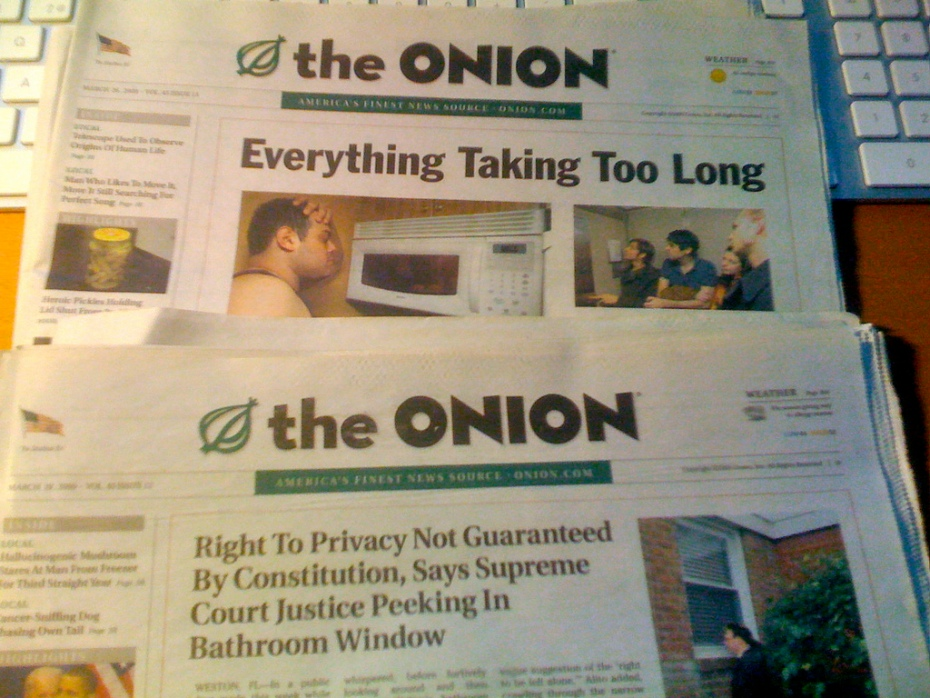 It's no joke: The Onion is quitting print.