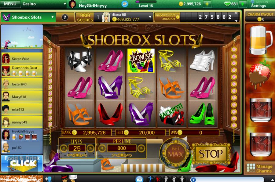 Vegas World social casino game